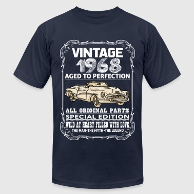 VINTAGE 1968-AGED TO PERFECTION - Men's Fine Jersey T-Shirt