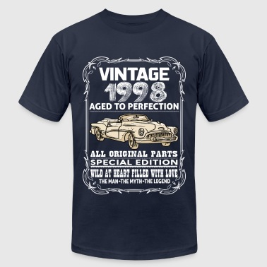 VINTAGE 1998-AGED TO PERFECTION - Men's Fine Jersey T-Shirt