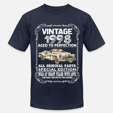 1998 Aged To Perfection VINTAGE 1998-AGED TO PERFECTION - Men's Fine Jersey T-Shirt