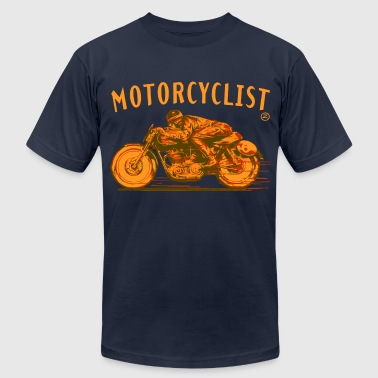 motorcyclist - Men's Fine Jersey T-Shirt