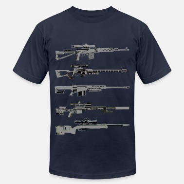 Barrett Sniper Rifles - Men's  Jersey T-Shirt