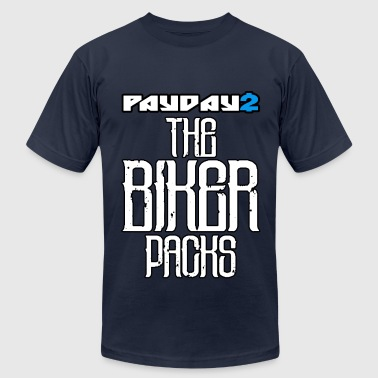 BIKER PACKS - Men's Fine Jersey T-Shirt