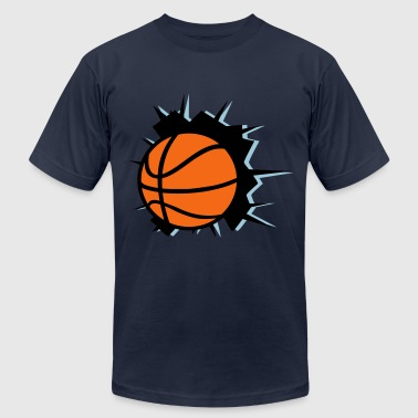 Basketball - Men's Fine Jersey T-Shirt