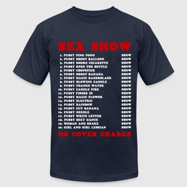 Walking Street Pattaya Bangkok Red Light Ping Pong Sex Show White - Men's Fine Jersey T-Shirt