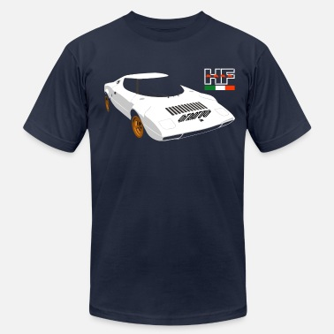 Stratos Lancia stratos rally - Men's  Jersey T-Shirt