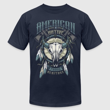 American Indian - Men's Fine Jersey T-Shirt