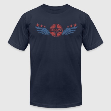 Winged Logo - Men's Fine Jersey T-Shirt