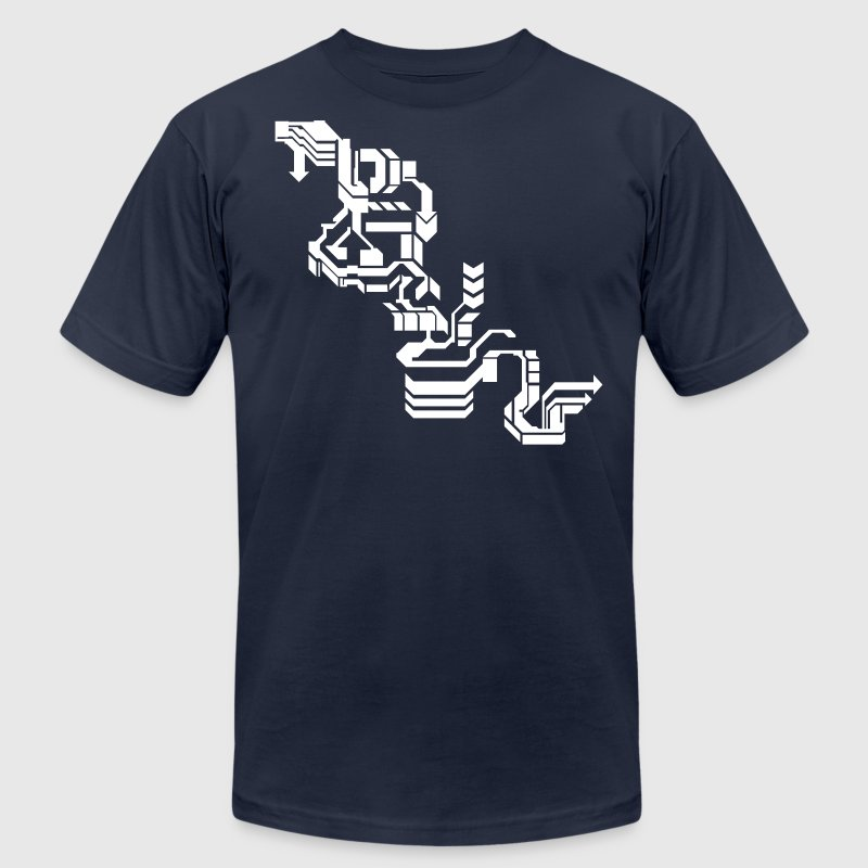 Cool Computer Design - Men's Fine Jersey T-Shirt