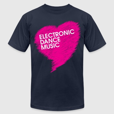 Electronic Dance Music - Men's Fine Jersey T-Shirt