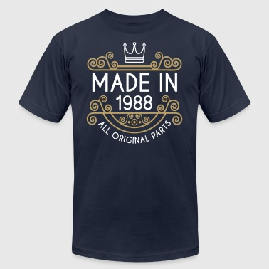 Made In 1988 All Original Parts - Men's Fine Jersey T-Shirt