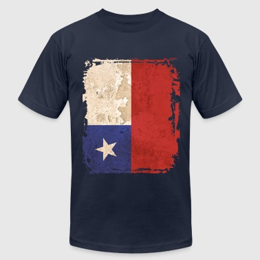 Chile Flag - Men's Fine Jersey T-Shirt