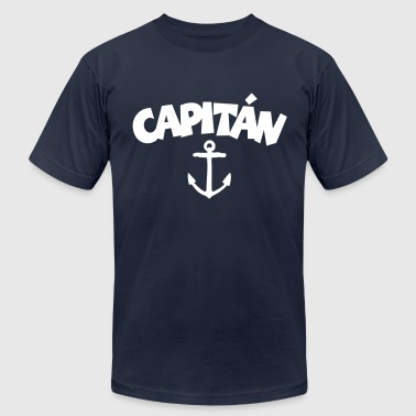 Capitán Anchor - Men's Fine Jersey T-Shirt