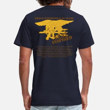 Navy SEALs Inspired Creed - Men's  Jersey T-Shirt