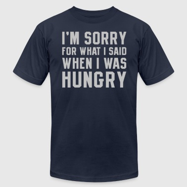 I'm Sorry Hungry - Men's Fine Jersey T-Shirt