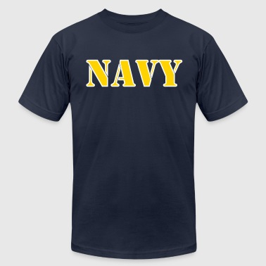 navy - Men's Fine Jersey T-Shirt