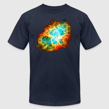Supernova, Crab Nebula, Space, Galaxy, Milky Way - Men's Fine Jersey T-Shirt
