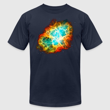 Nebula Supernova, Crab Nebula, Space, Galaxy, Milky Way - Men's Fine Jersey T-Shirt