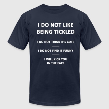 Don't Tickle - Men's Fine Jersey T-Shirt