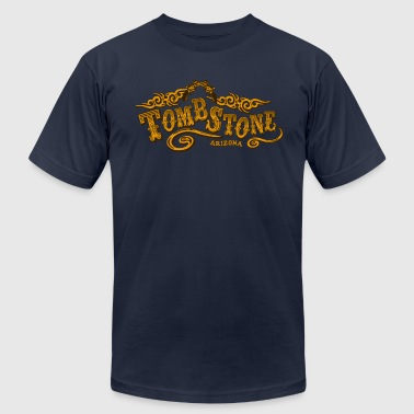 Tombstone Saloon - Men's Fine Jersey T-Shirt