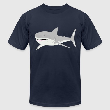 Navy shark T-Shirts - Men's Fine Jersey T-Shirt