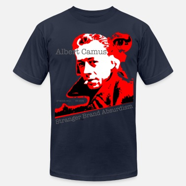 Absurde Art Albert Camus - Men's  Jersey T-Shirt