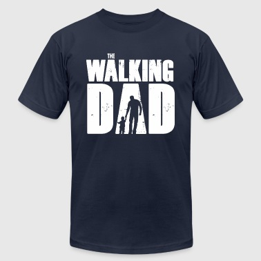 WALKING DAD V1 - Men's Fine Jersey T-Shirt