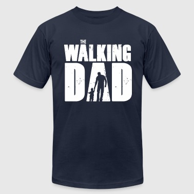 The Walking Dad WALKING DAD V1 - Men's Fine Jersey T-Shirt