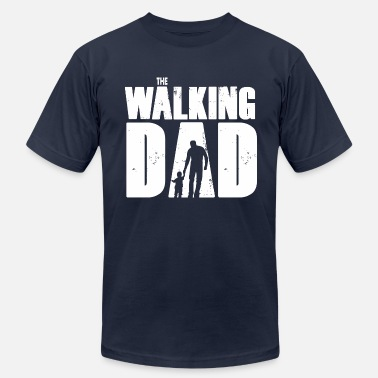 Walking WALKING DAD V1 - Men's  Jersey T-Shirt