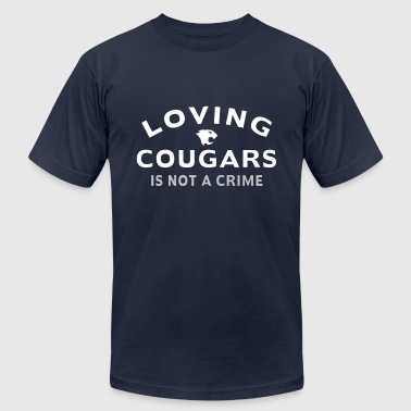 Loving Cougars - Men's Fine Jersey T-Shirt