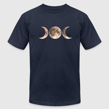 Wicca Moon - triple moon - Goddess symbol - Men's Fine Jersey T-Shirt