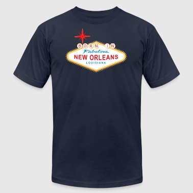Born in New Orleans - Men's Fine Jersey T-Shirt