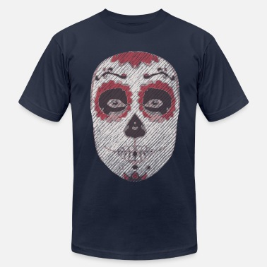 Day Of The Dead Day of the Dead Girl- Foxtrot Uniform Charlie Kilo - Men's  Jersey T-Shirt