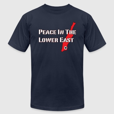 Peace In The Lower East [M] - Men's Fine Jersey T-Shirt