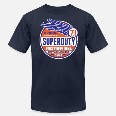 Old Advertising Super Duty Oil - Men's  Jersey T-Shirt