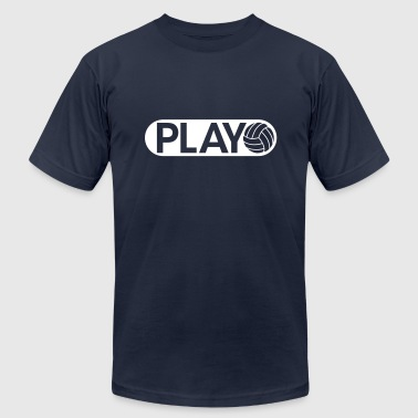 Playing Volleyball Volleyball Play Volleyball - Men's Fine Jersey T-Shirt