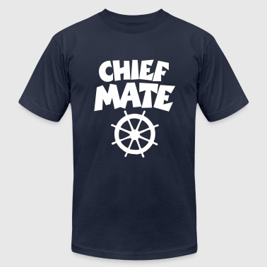 Chief Mate Chief Mate Wheel - Men's Fine Jersey T-Shirt