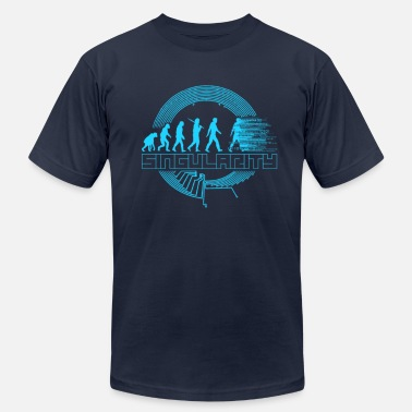 Singular Singularity - Men's Jersey T-Shirt