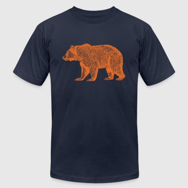 Monsters CHICAGO BEAR - Men's Fine Jersey T-Shirt