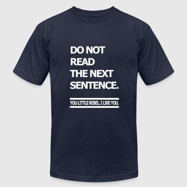 Reading do not read - Men's Fine Jersey T-Shirt