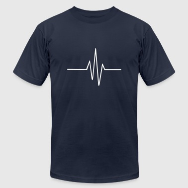 Frequencies Frequency - Men's Fine Jersey T-Shirt
