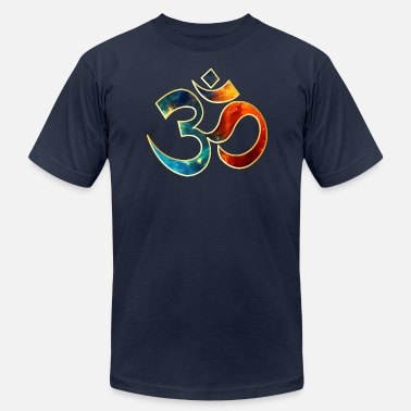 Sound Symbol Space OM, Sound of Universe, Symbol Evolution - Men's  Jersey T-Shirt