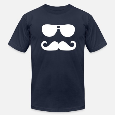 Sunglasses Mustache Mustache sunglasses - Men's  Jersey T-Shirt