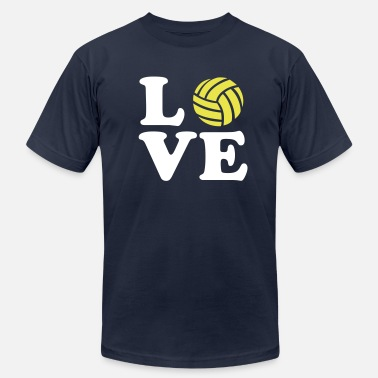 Volleyball Team Volleyball - Men's Fine Jersey T-Shirt