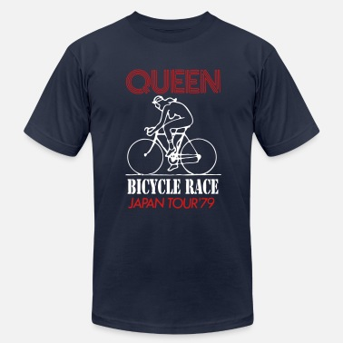 Fat Bottom Girls queen tour - Men's Fine Jersey T-Shirt