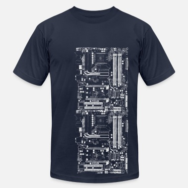 Science Computer Design - Men's  Jersey T-Shirt