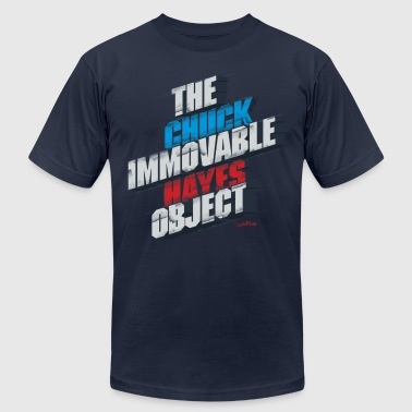 Chuck Hayes - The Immovable Object - Men's Fine Jersey T-Shirt