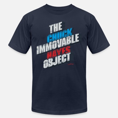 Immovable Chuck Hayes - The Immovable Object - Men's  Jersey T-Shirt
