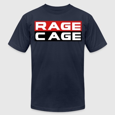 Rage In The Cage Rage Cage - Men's Fine Jersey T-Shirt