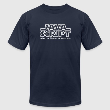 JavaScript - May the Objet be with you - Men's Fine Jersey T-Shirt