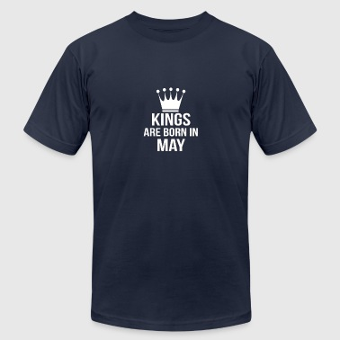 Boss Born May kings are born in may - Men's Fine Jersey T-Shirt